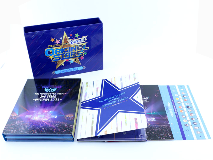 【中古】THE IDOLM@STER SideM 2nd STAGE ~ORIGIN@L STARS~ Live Blu-ray (Complete Side) アイドルマスター サイドM[Blu-ray]【宮崎店】