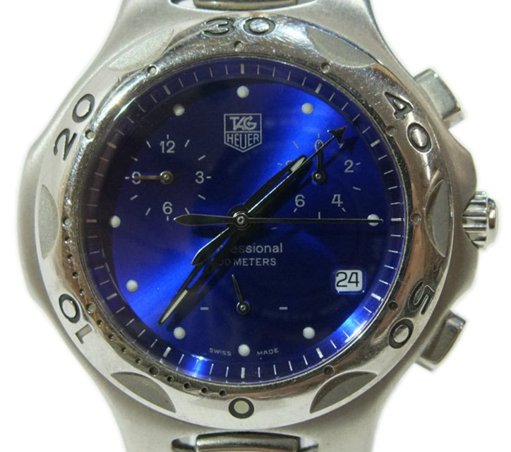 official photos de696 31149 中古】TAG HEUER キリウム クロノグラフ CL1112