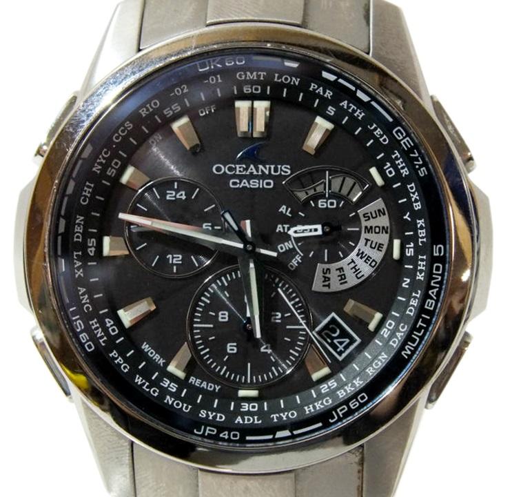 timeless design 1e8fd f1d40 中古】CASIO OCEANUS OCW-M700TDJ-1AJF