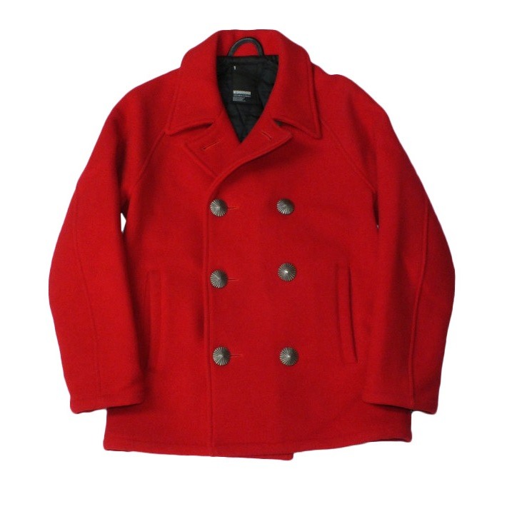 "【中古】NEIGHBORHOOD P-Seabee/M-Coat ""ネイバーフッド Pコート""【都城店】"