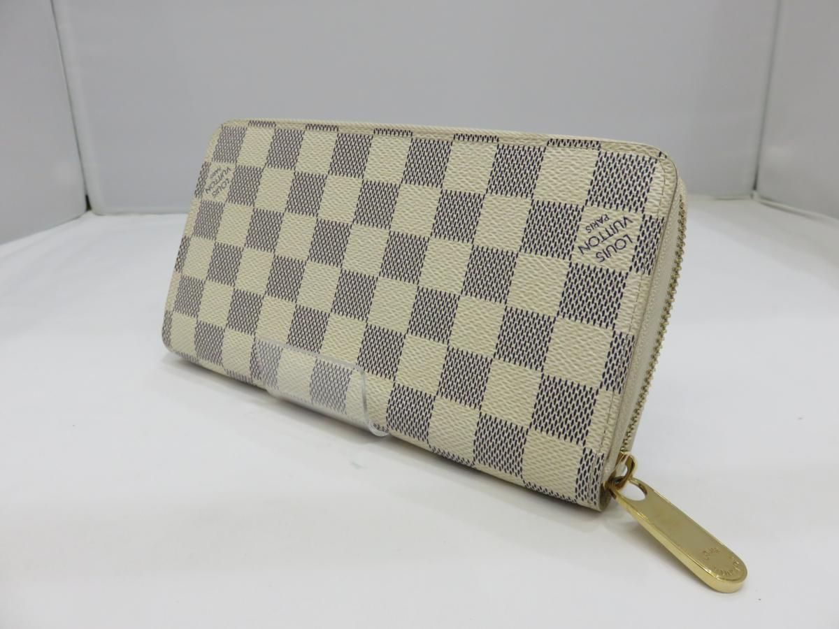 sale retailer 7ad1e 7bd5c LOUIS VUITTON ルイヴィトン ダミエ・アズール ジッピー ...