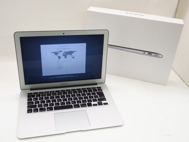 Apple MacBook Air 13 inch 2017 Core i5(1.8GHz)/8GB/SSD256GB MQD42J/A 充放電72回 ※中古