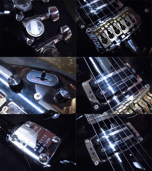 Warriors Imagine Dragons Electric Guitar Tab: Used Aria Pro II RS INAZUMA Black Used Electric Guitar