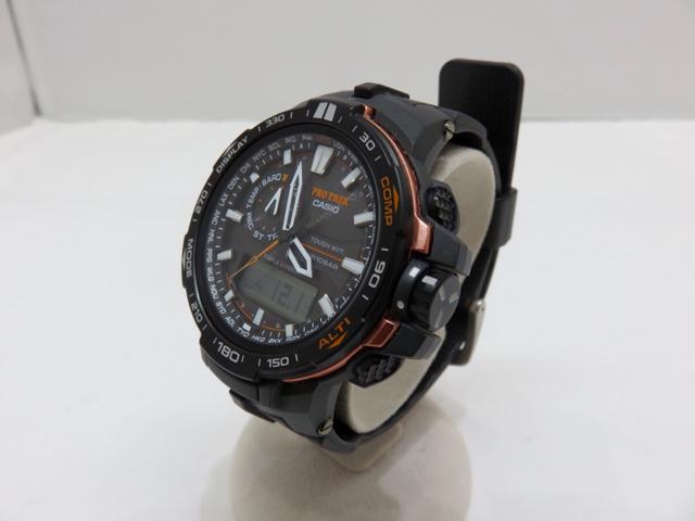 54c9437945 CASIO PRO TREK カシオ プロトレック トリプルセンサー ソーラー 電波 腕時計 PRW-6000Y メンズ 男性