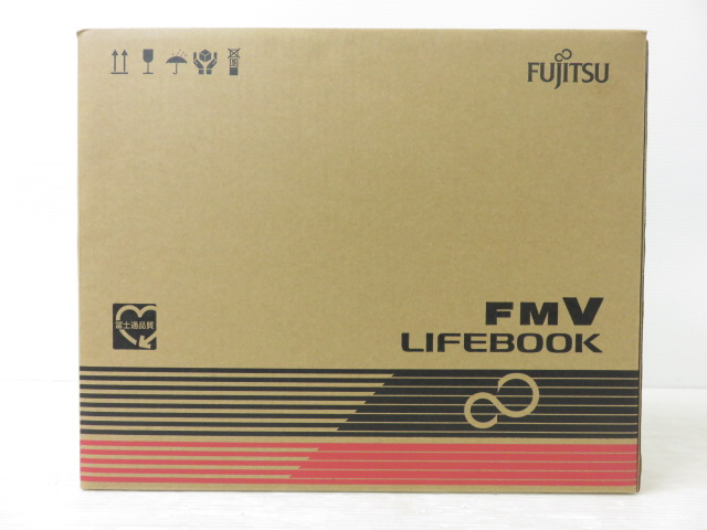 富士通 FMV LIFEBOOKAH77/B3 Win10/i7 8550U/8GB/128GB SSD+1TB HDD/BD/office ※未使用