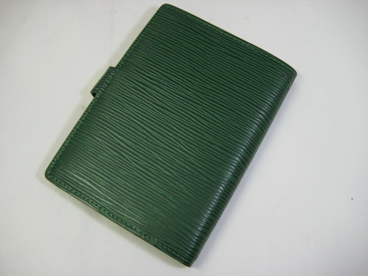 877f283c28ee LOUIS VUITTON エピ アジェンダPM システム手帳 R20054 ボルネオグリーン ...
