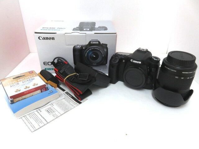 Canon EOS 70DEF-S18-135 IS STM レンズキット レリーズ回数 3476回 ※中古