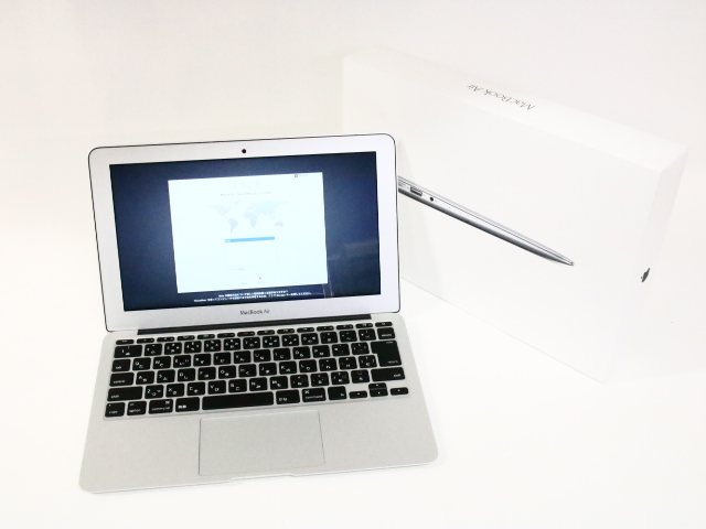 MacBook Air (11inch Early 2015)i5 1.6GHz/4GB/256GB/MJVP2J/A ※中古