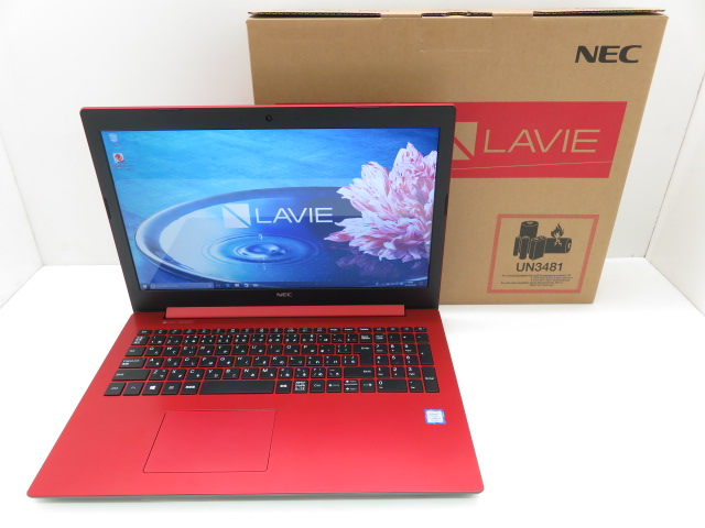 NEC LAVIE Note StandardNS700/KAR/Win10/ i7 8550U1.8GHz/8GB/1TB/BD/office/PC-NS700KAR ※中古