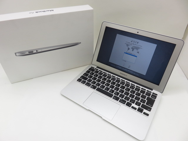 Apple MacBook Air11inch Mid 2012/2.0GHz Core i7/8GB/512GB/充放電87回/MD224J/Aのフルオプション ※中古
