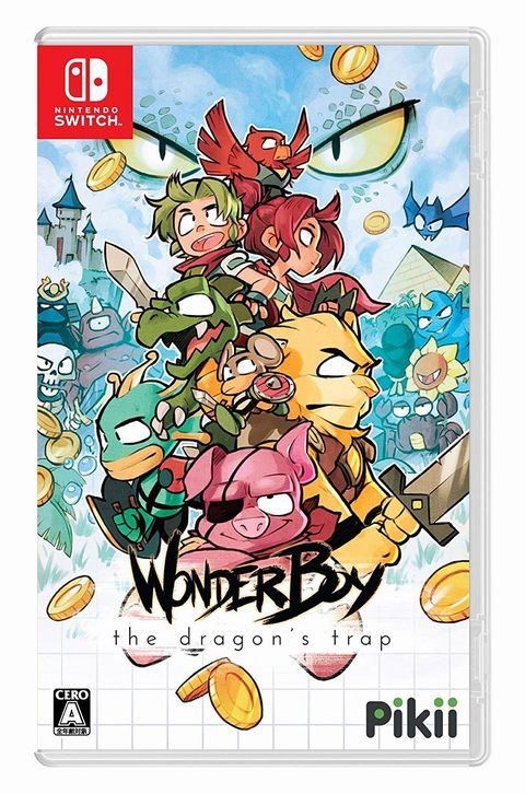 【中古】【Nintendo Switch】Wonder Boy: The Dragon's Trap【AA-606】【松本店】