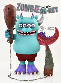 "INSTINCTOY RE-RET 2nd color ""ZOMBIE"" 限定版"