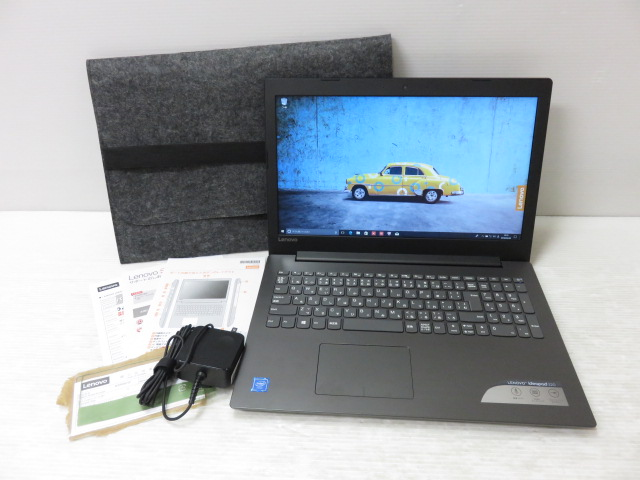 Lenovo ideapad 320 80XR009TJP/Win10/Cere N3350 1.10GHz/4GB/500GB ※中古